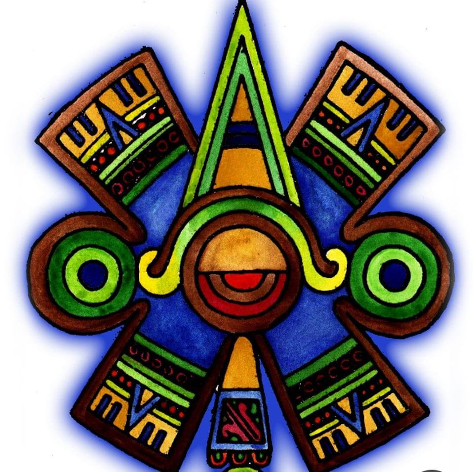 Danza Azteca Olin Logo