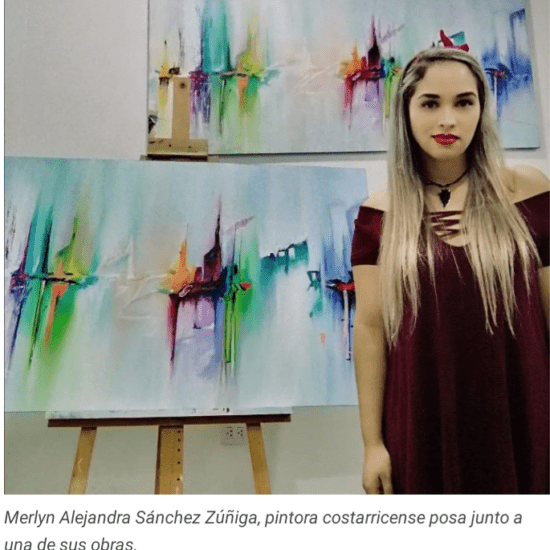 Merlyn Alejandra Sanchez Pintora Costarricense