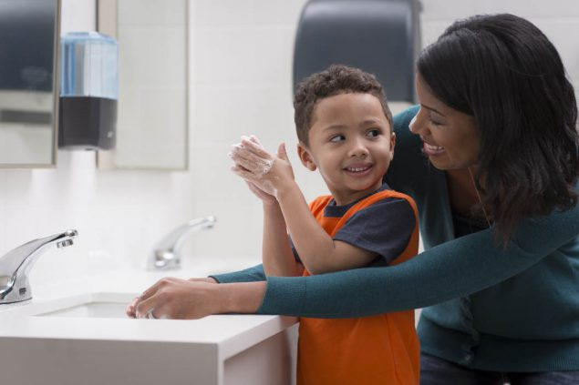 Lavado de manos: mantenga sana a su familia