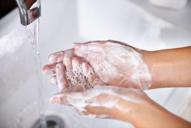 Como lavarse las manos, CDC