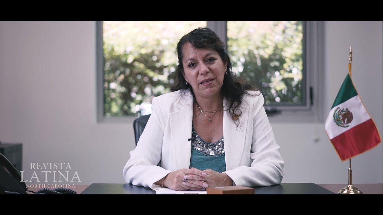 Cónsul General de México Claudia Velasco