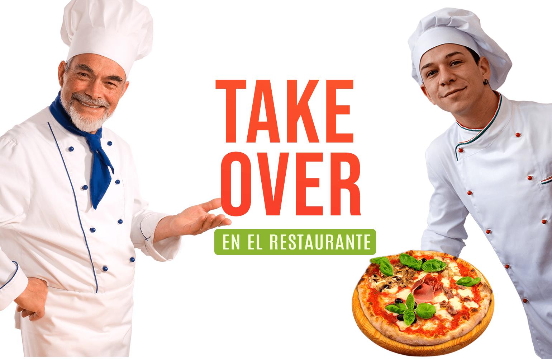 Takeover como estrategia de marketing gastronómico