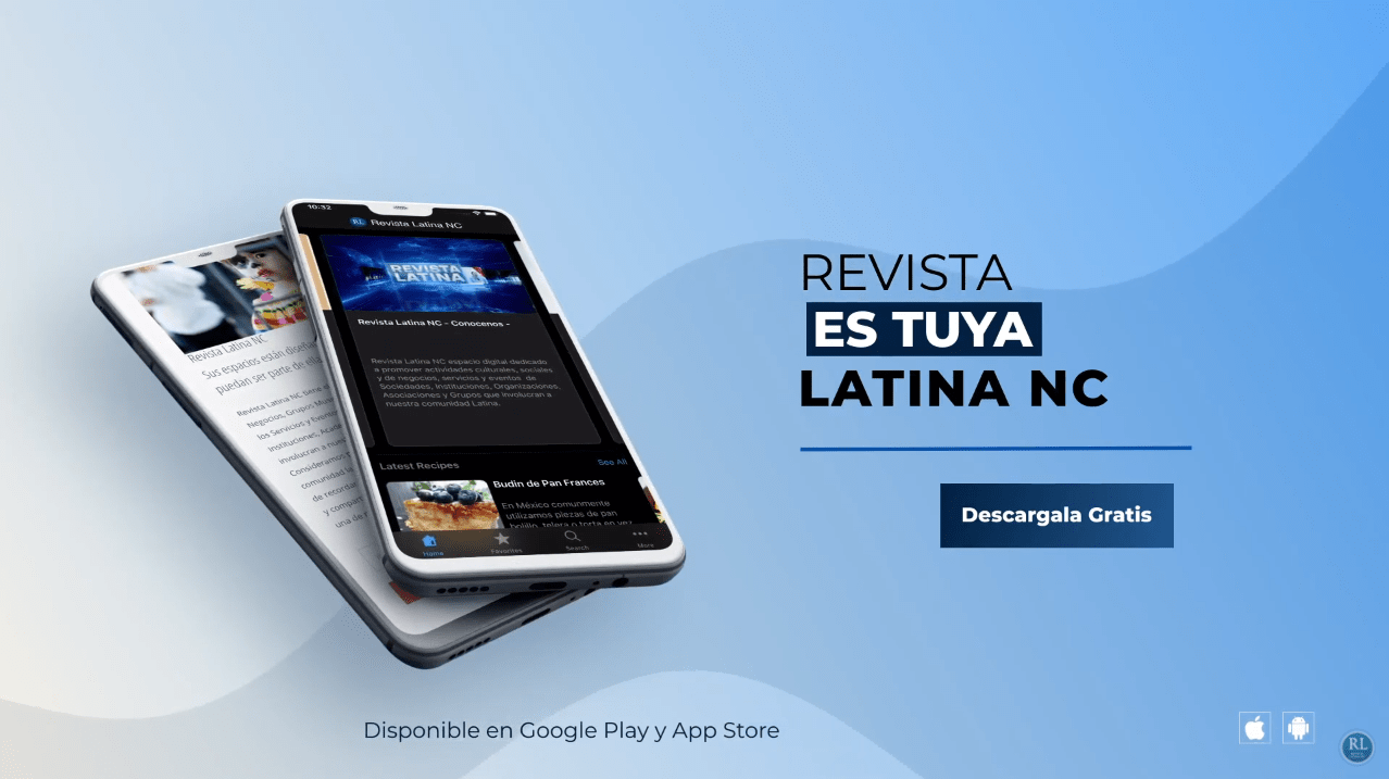 Revista Latina NC - Mobile app