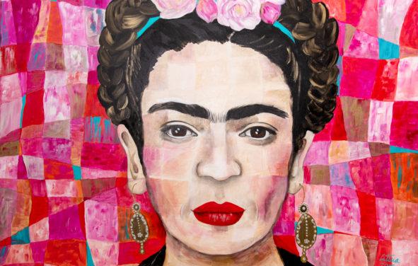 Leticia Alvarez Exhibition - Frida Kahlo