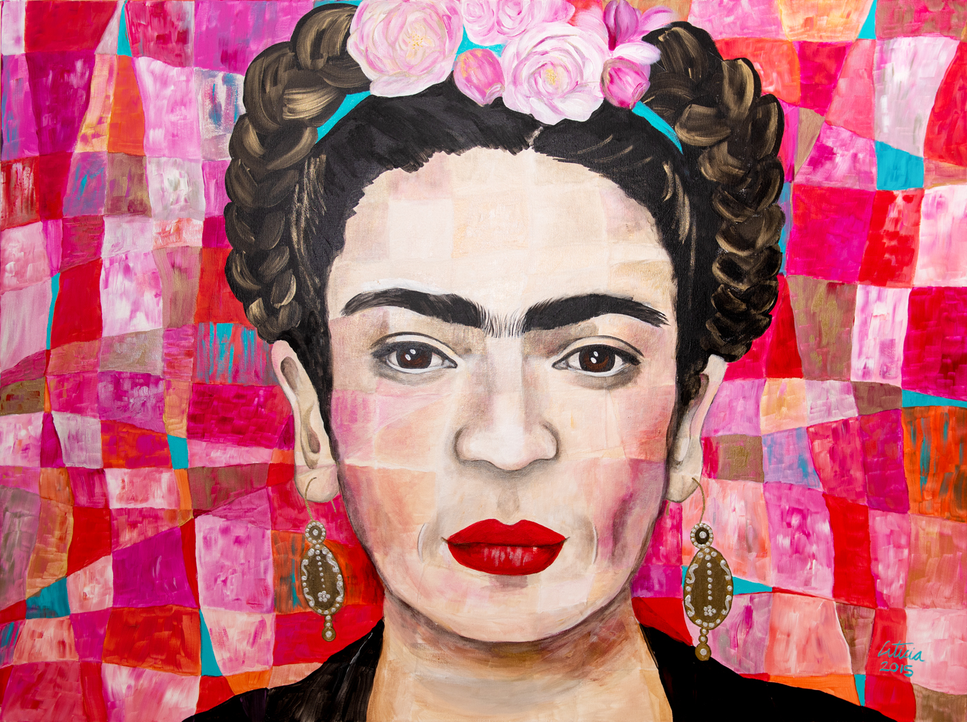 Leticia Alvarez Exhibition - Frida Kahlo